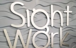 Sight Work - Interior Feature Wall Sign