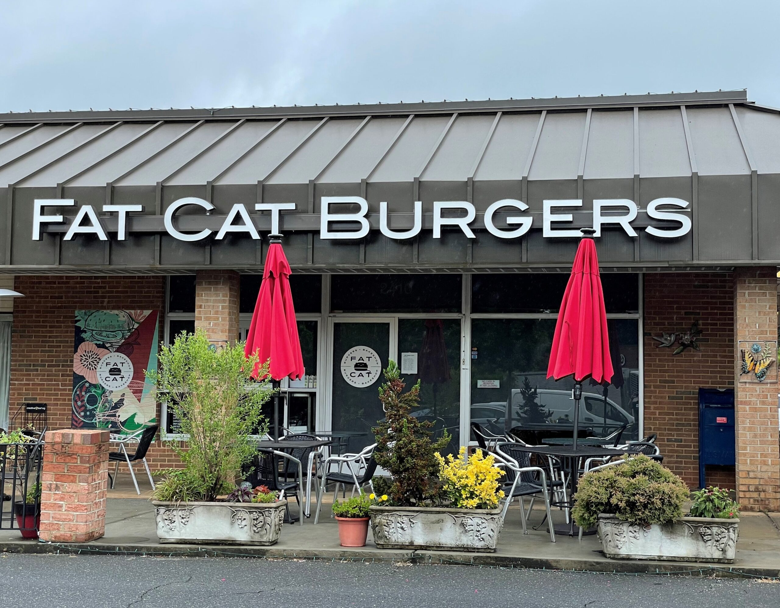 LED Channel Letter Sign for Fat Cat Burgers of Charlotte