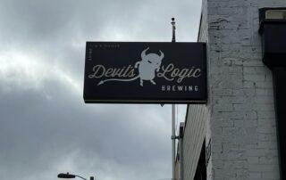 Devil's Logic Brewing of Charlotte - LED Blade Sign
