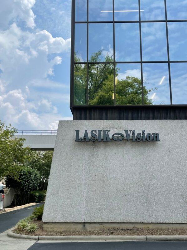 Lasik Vision of Charlotte - Channel Letter Sign