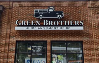 Green Brothers Juice of Charlotte – Custom LED Signage