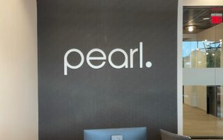 Dimensional Acrylic Wall Sign for Pearl Dentistry!