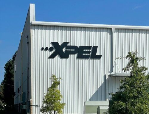 Signage Package for XPEL of Charlotte!