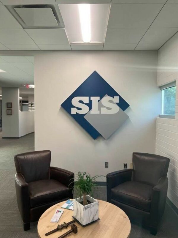 Interior Feature Wall Sign for Southeast Interior Systems