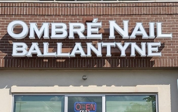 Channel Letter Sign for Ombre Nail Ballantyne